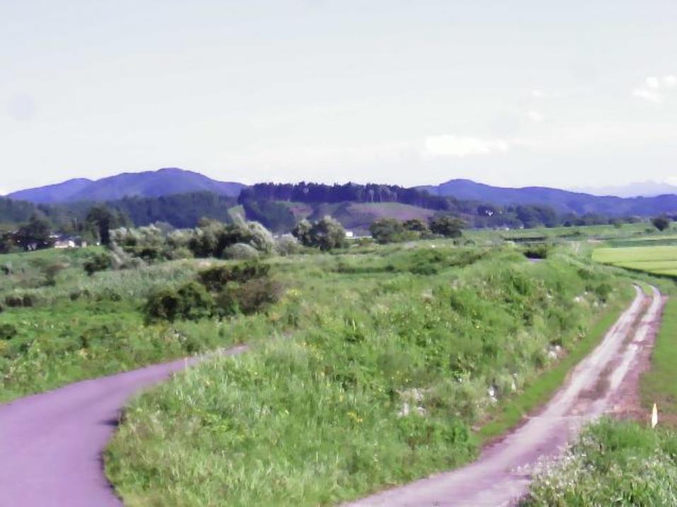 子吉川17.2KP左岸ライブカメラ(秋田県由利本荘市森子)
