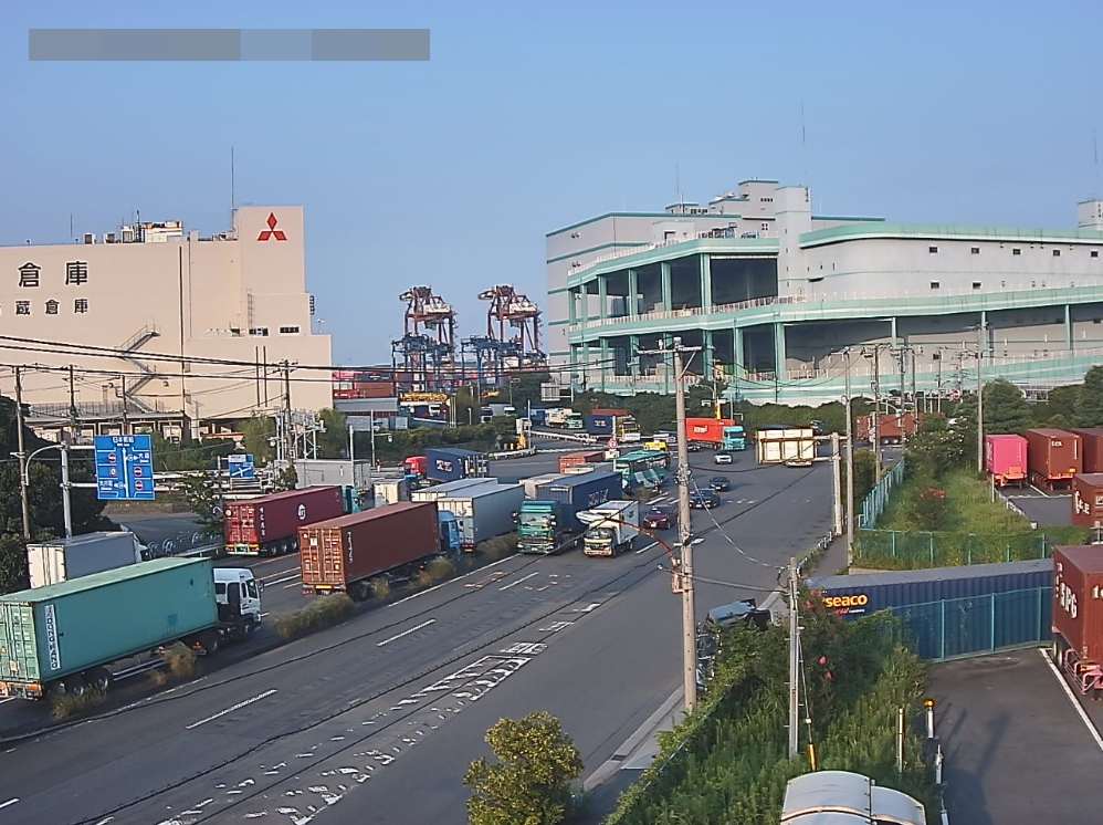 大井埠頭大井税関前交差点第2ライブカメラ(東京都大田区東海)