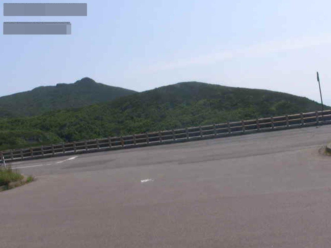 知床峠国道334号路面状況ライブカメラ(北海道羅臼町湯ノ沢町)