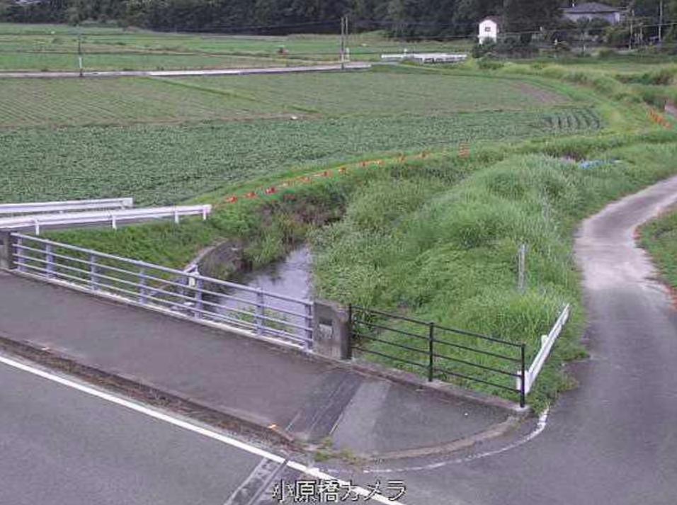 通瀬川小原橋ライブカメラ(佐賀県みやき町東尾)