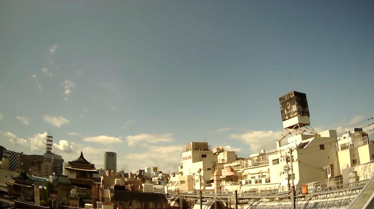 あいほん屋高松店トキワ街アーケード上空天気ライブカメラ(香川県高松市常磐町)