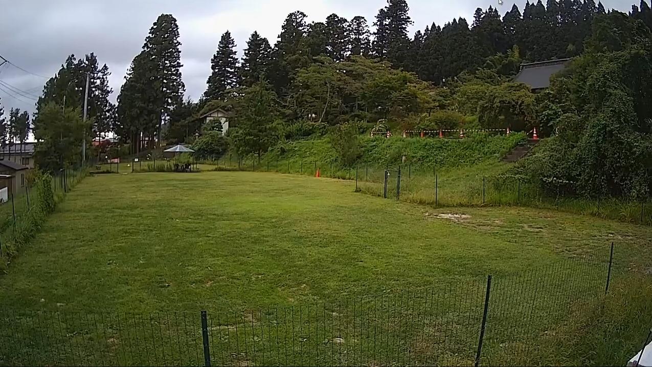 霊桃寺ドッグランライブカメラ(岩手県奥州市前沢区)