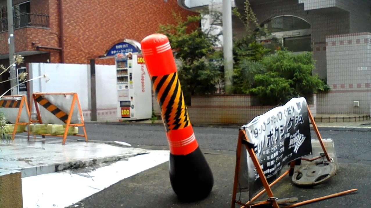 新宿スポーツジムライブストリートサンドバッグカメラ(東京都新宿区歌舞伎町)