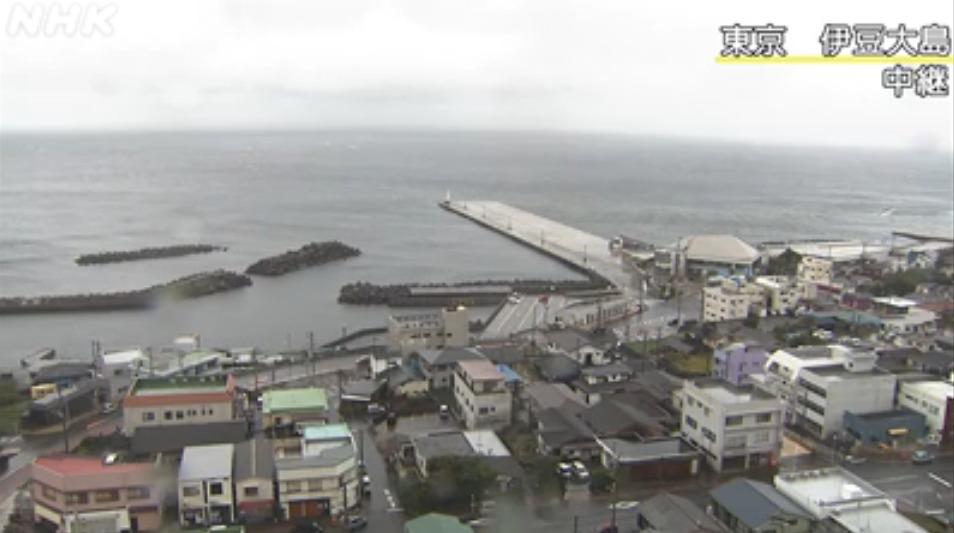 NHK伊豆大島ライブカメラ(東京都大島町)