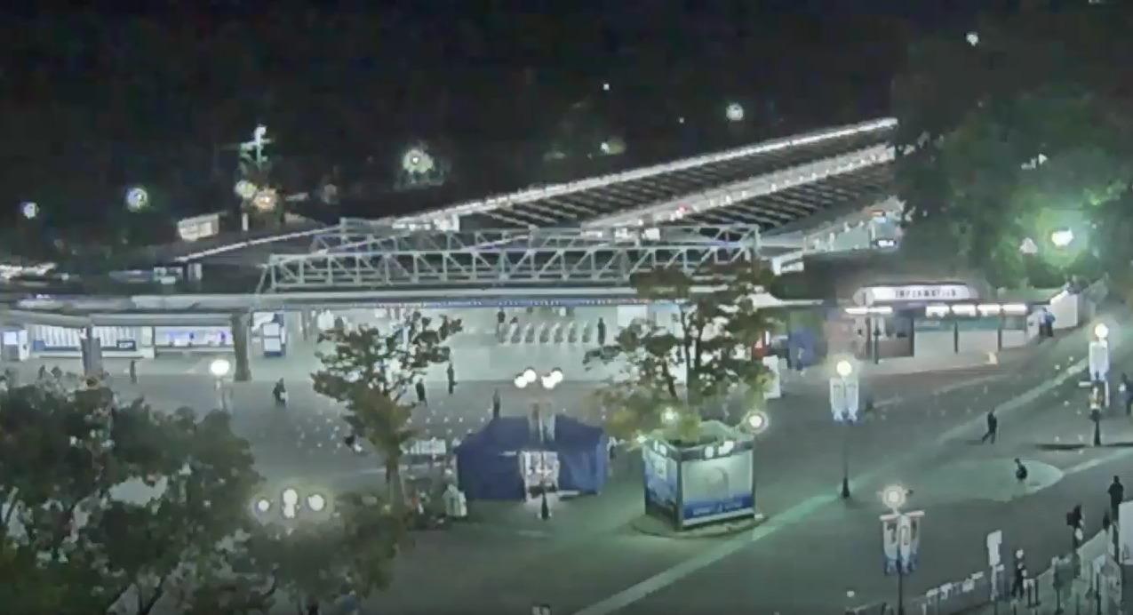西武ドーム西武球場前駅ライブカメラ(埼玉県所沢市上山口)