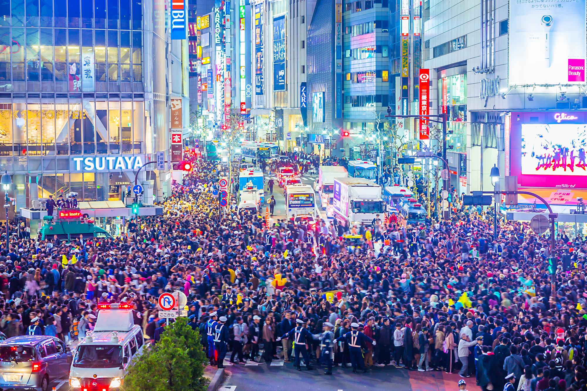 渋谷スクランブル交差点ライブカメラ一覧