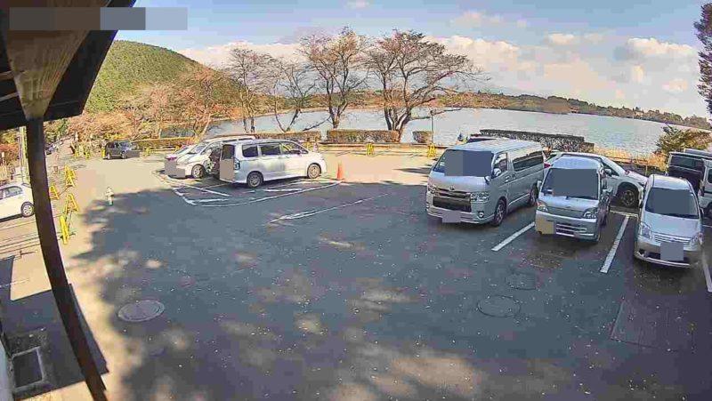 田貫湖キャンプ場北駐車場ライブカメラ(静岡県富士宮市猪之頭)