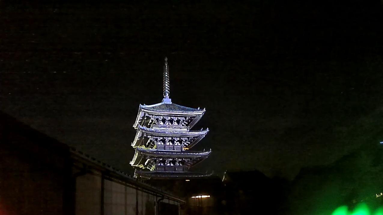 恋舞妓八坂の塔ライブカメラ(京都府京都市東山区)