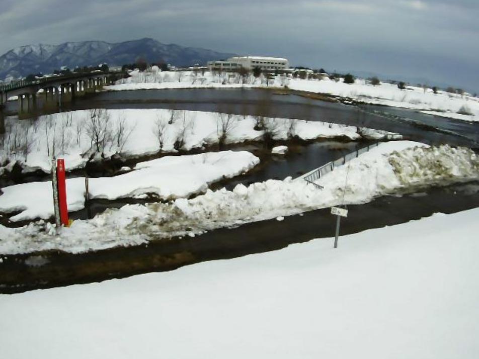 赤川黒川橋ライブカメラ(山形県鶴岡市黒川)