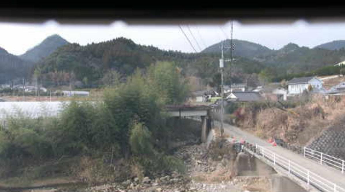 日田市大肥川白岩橋ライブカメラ(大分県日田市大肥)