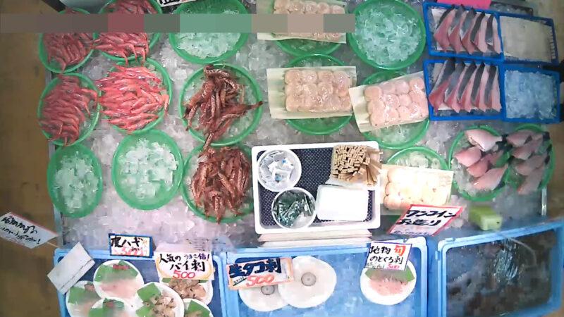 磯貝鮮魚店第1ライブカメラ(新潟県糸魚川市能生小泊)