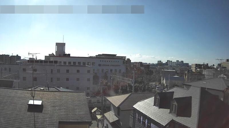 JR神戸線さくら夙川駅芦屋駅間ライブカメラ(兵庫県西宮市霞町)