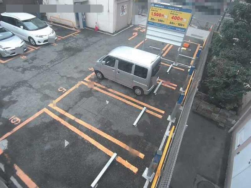 NTTルパルク大森北第1駐車場ライブカメラ(東京都大田区大森北)