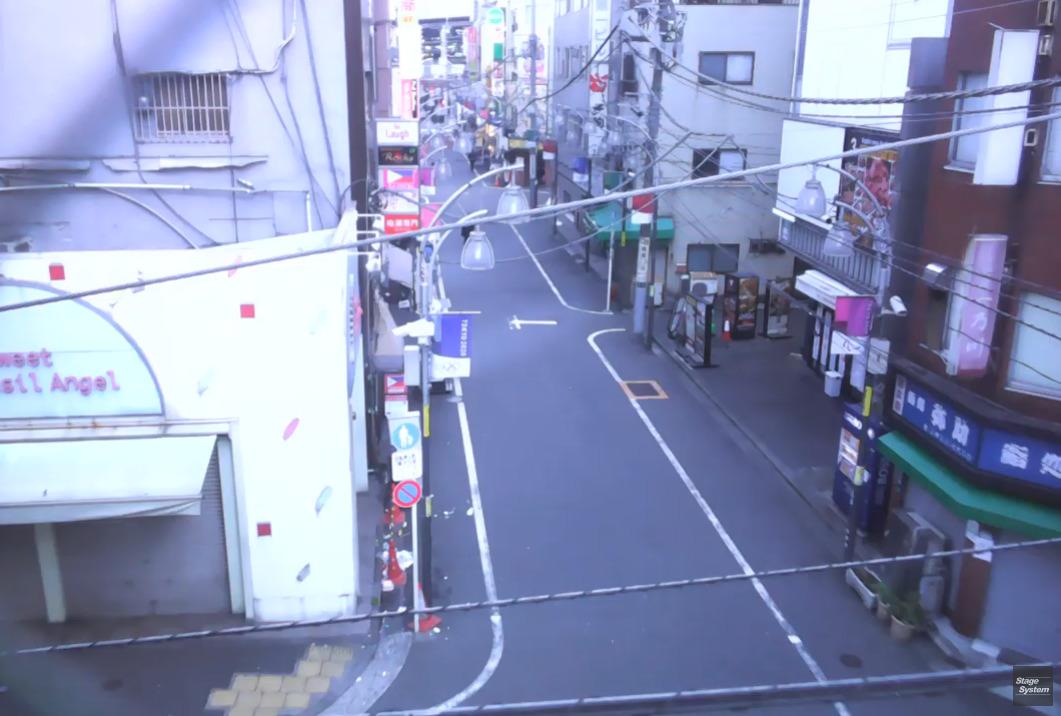 ステージシステム新橋駅西口通りライブカメラ(東京都港区新橋)