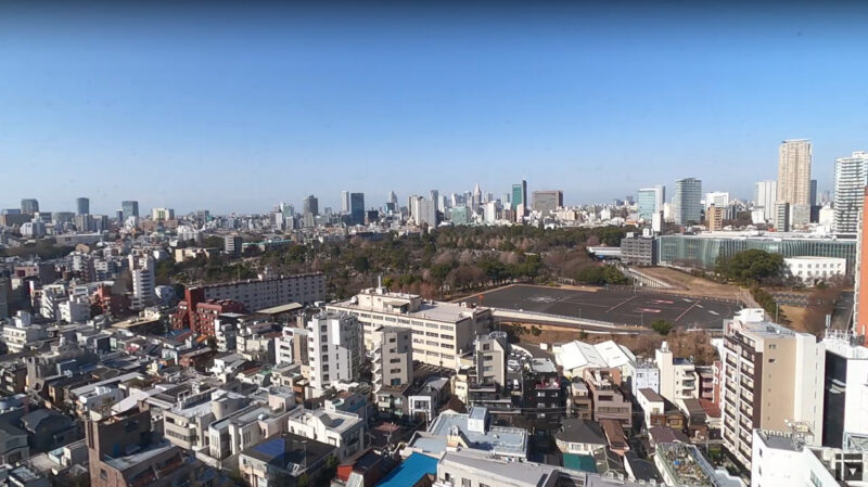 TOREVee西麻布ライブカメラ(東京都港区西麻布)