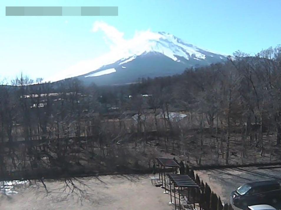 ワンズリゾート山中湖富士山ライブカメラ(山梨県山中湖村山中)