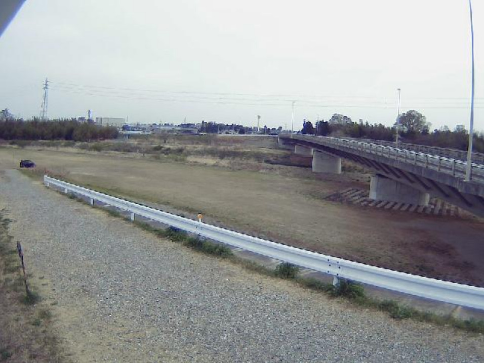 越辺川14.2KP左岸ライブカメラ(埼玉県鳩山町赤沼)