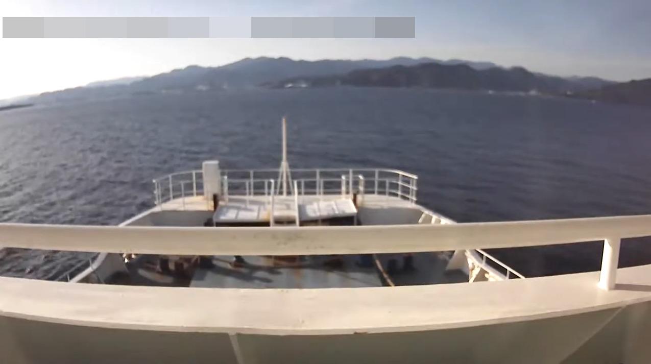 駿河湾フェリー船上ライブカメラ(静岡県伊豆市土肥)