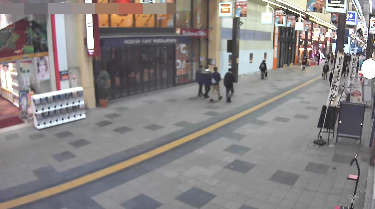 たぬきや狸小路商店街ライブカメラ(北海道札幌市中央区)