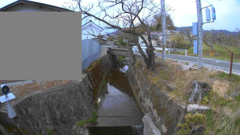 米川明神橋ライブカメラ(福島県福島市飯坂町湯野)