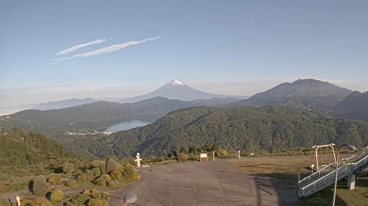ターンパイク箱根富士山ライブカメラ(神奈川県湯河原町鍛冶屋)