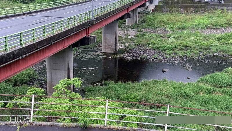 成羽川田原橋ライブカメラ(岡山県高梁市備中町東油野)