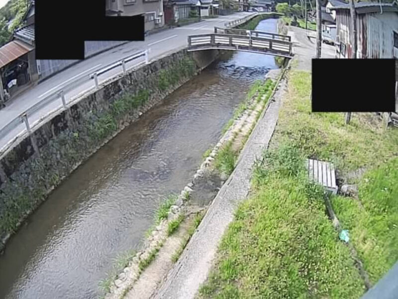 能瀬川中山橋ライブカメラ(石川県津幡町中山)
