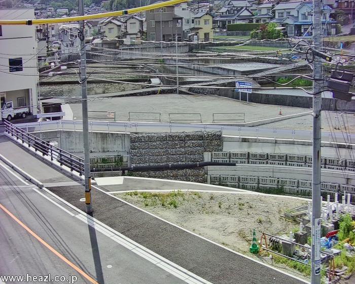 小河原川福田7丁目ライブカメラ(広島県広島市東区)
