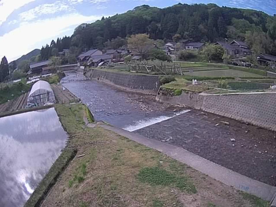 大海川西谷橋ライブカメラ(石川県津幡町上河合)
