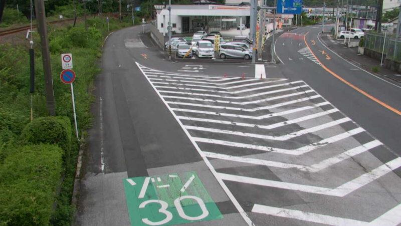 国道217号鶴岡バイパス付近ライブカメラ(大分県佐伯市上岡)