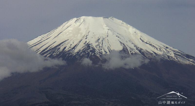 絶景くん富士山望遠ライブカメラ(山梨県山中湖村平野)