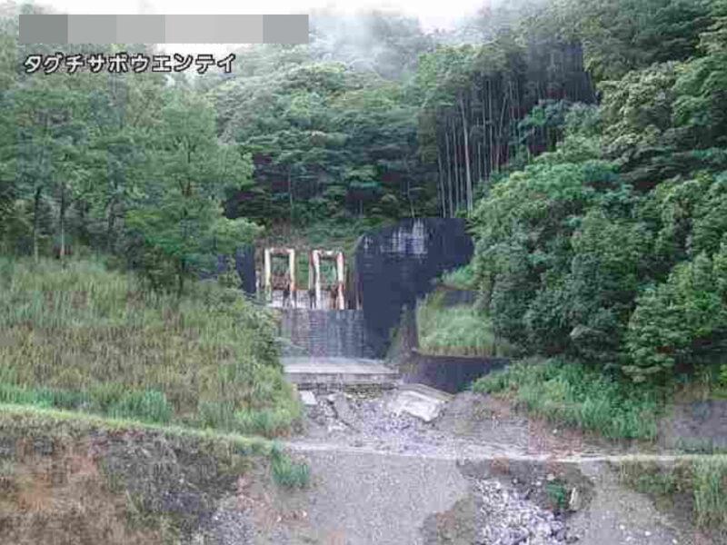 田口砂防堰堤ライブカメラ(熊本県五木村甲頭地)