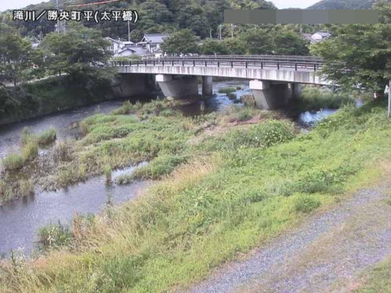 滝川太平橋ライブカメラ(岡山県勝央町平)