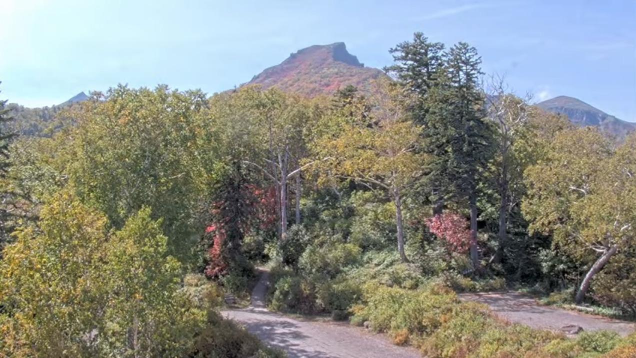 黒岳5合目山頂方向ライブカメラ(北海道上川町層雲峡)