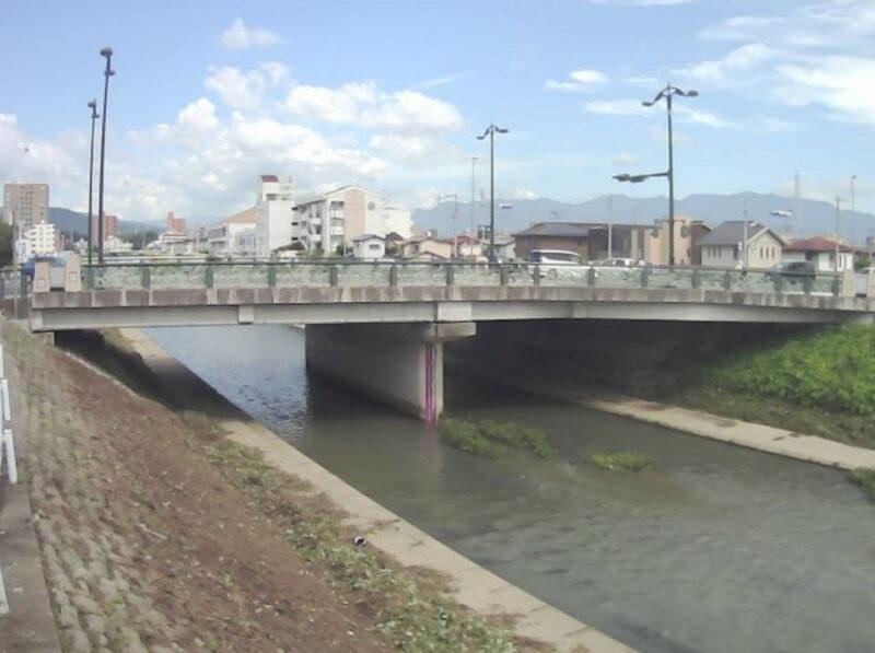 小野川精農橋ライブカメラ(愛媛県松山市朝生田町)