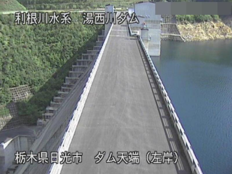湯西川ダム上流第1ライブカメラ(栃木県日光市西川)